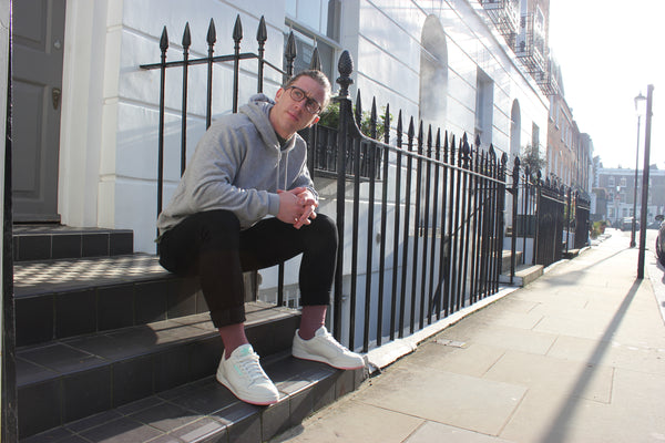 Red Socks and White Trainers