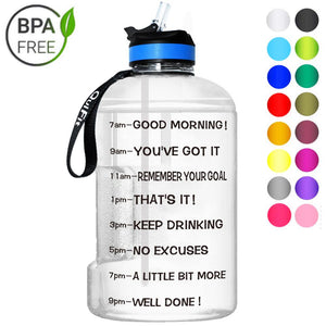 Motivational bottle ™ - helpt je goed te drinken gedurende de dag