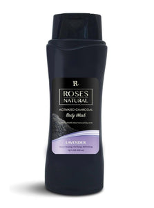 Activated Charcoal Body Wash - Lavender