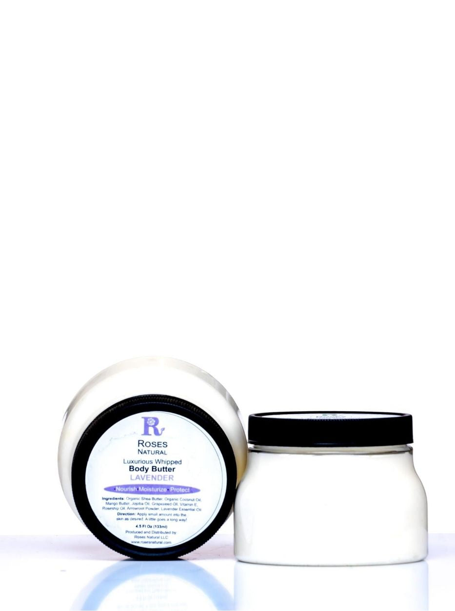 8 Oz Luxurious Whipped Body Butter