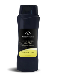 Activated Charcoal Body Wash - Citrus + Tea tree