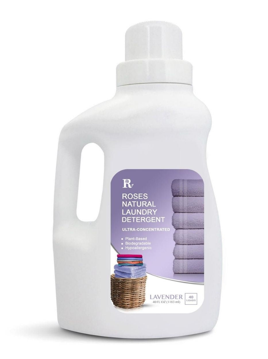 40 oz Natural Laundry Detergent - Lavender