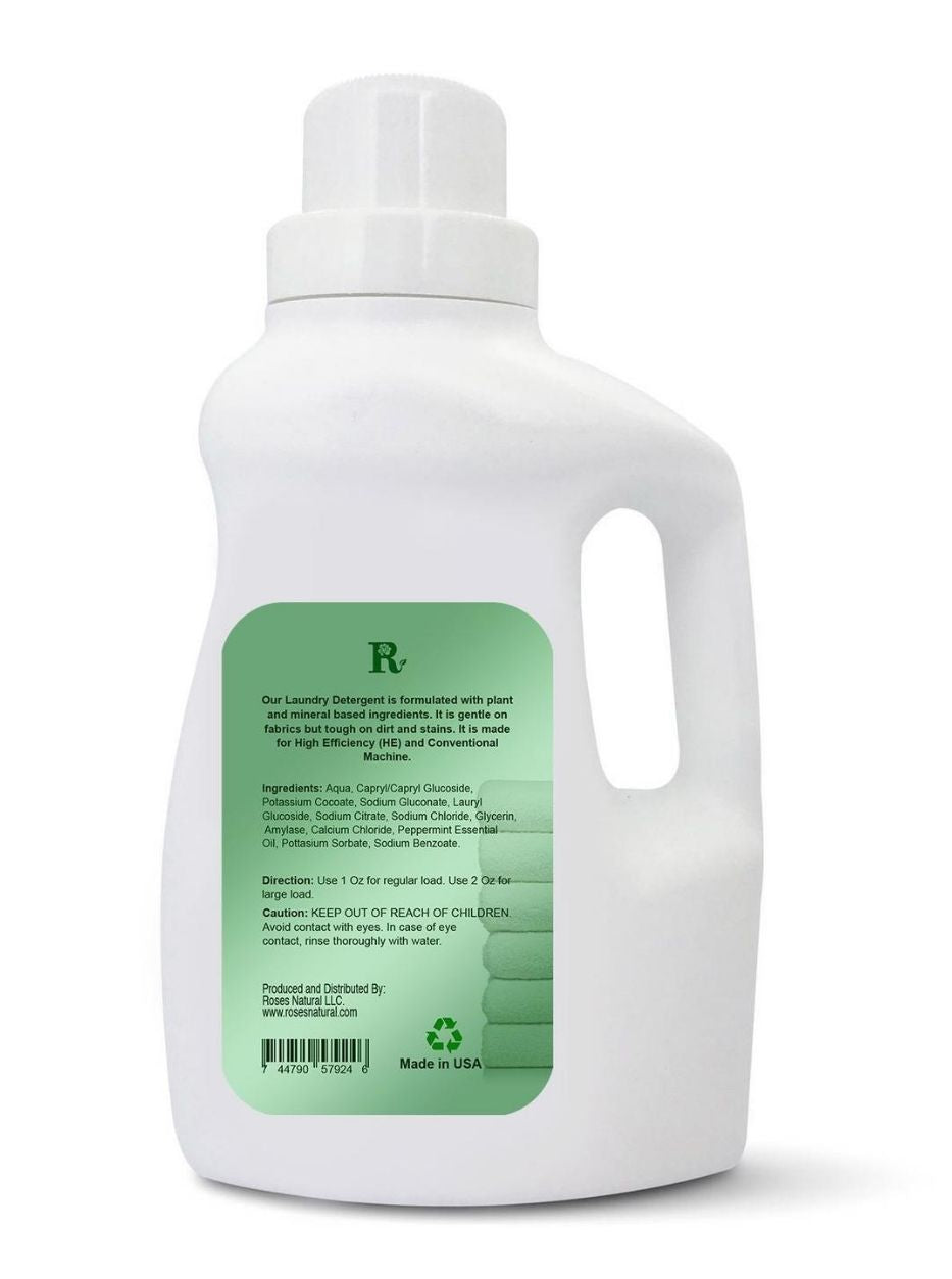 Natural Laundry Detergent - Peppermint