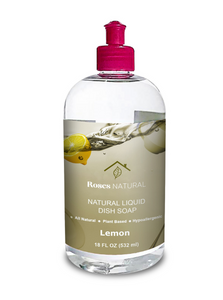 Natural Dish Soap - Lemon
