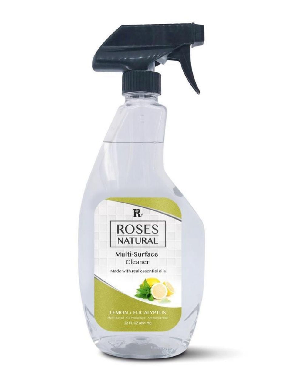 22 oz Natural Multi-Surface Cleaner - Lemon + Eucalyptus