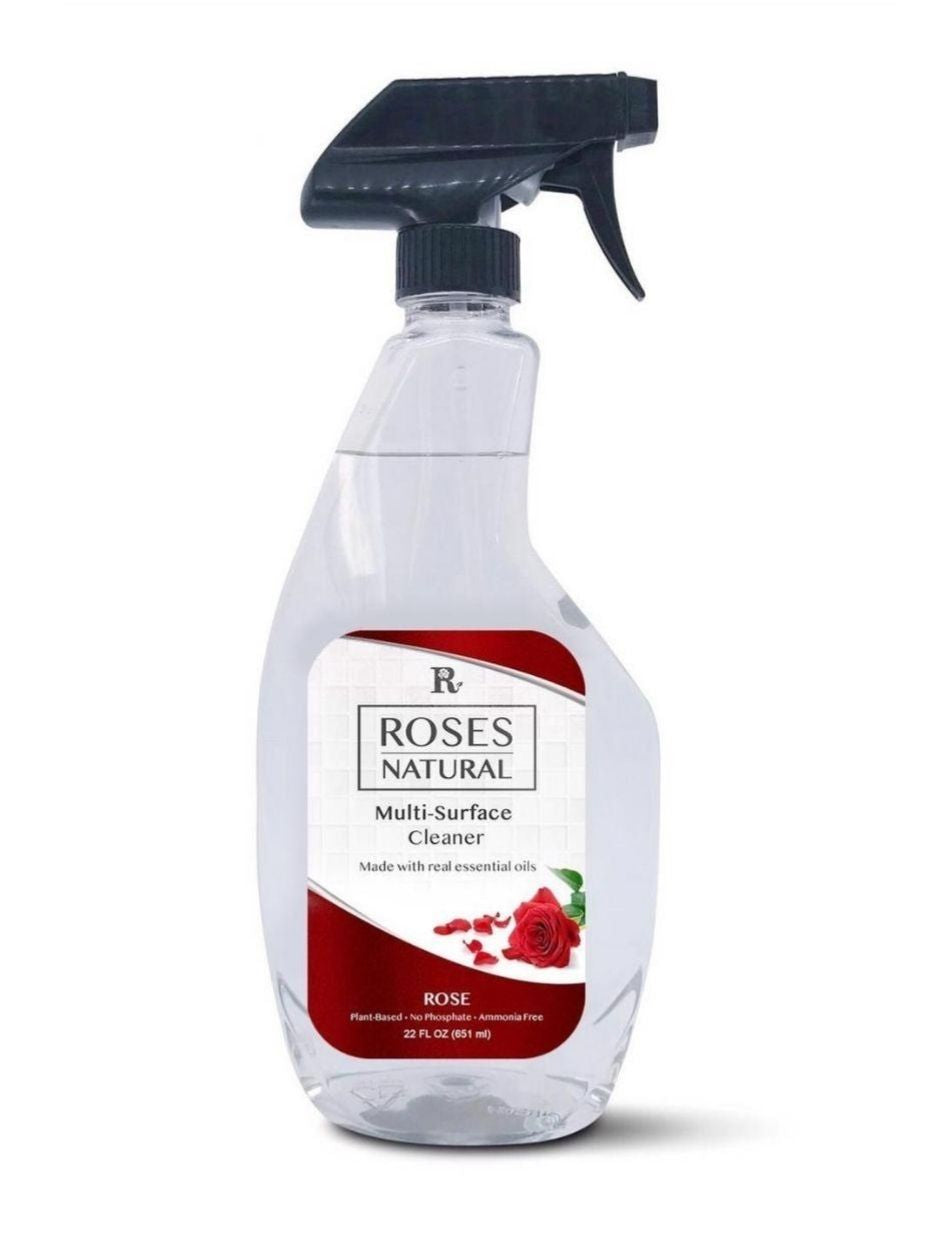 22 oz Natural Multi-Surface Cleaner - Rose