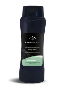 Activated Charcoal Body Wash - Peppermint