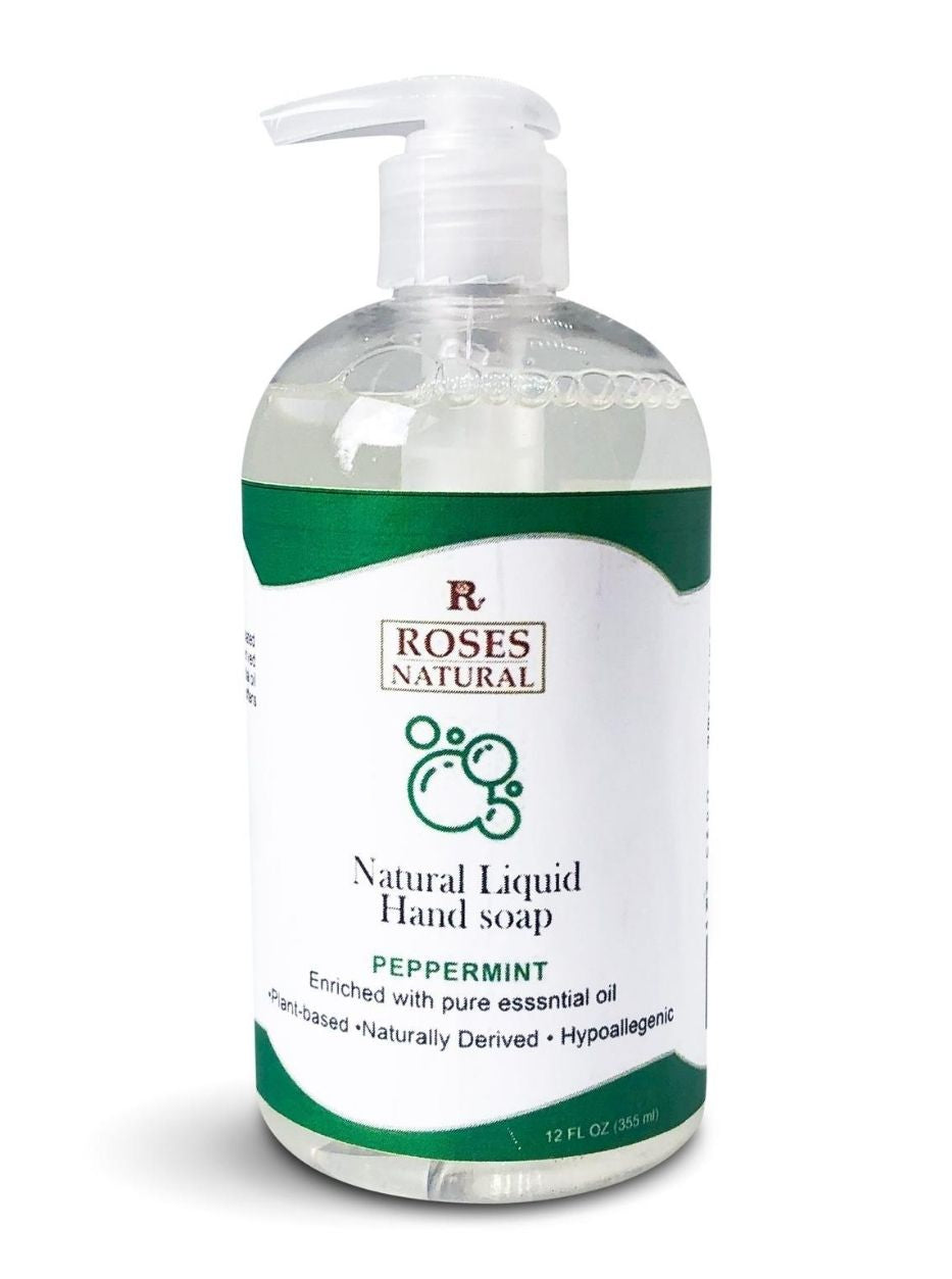 Natural Liquid Hand Soap - Peppermint