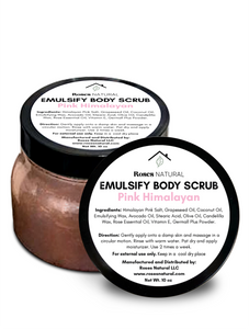 Emulsifying Body Scrub - 10 Oz.