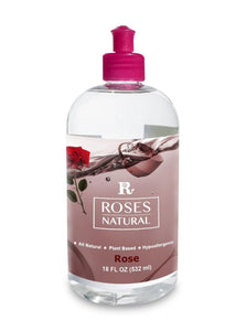 Natural Dish Soap - Rose