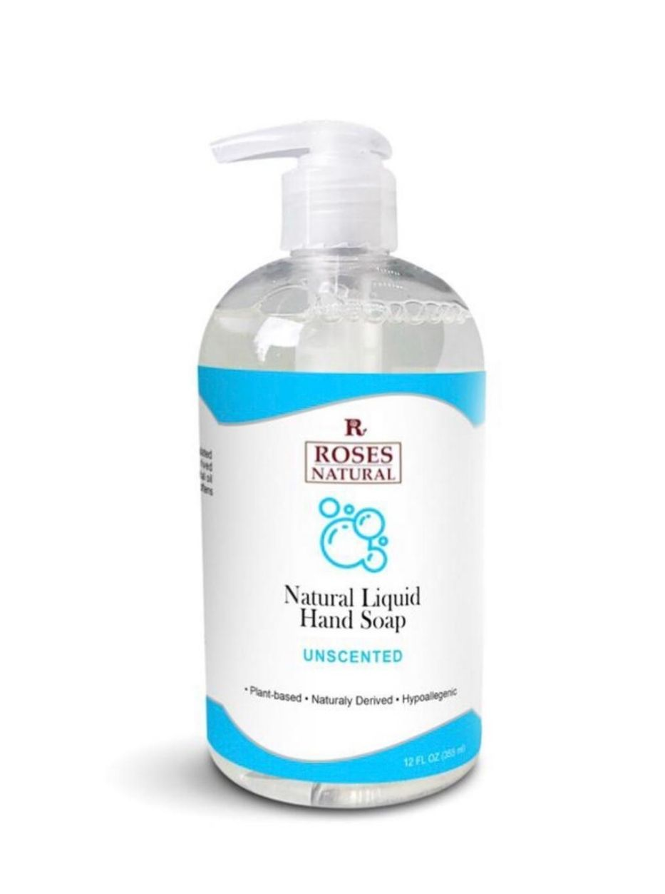12 oz Natural Liquid Hand Soap - Unscented