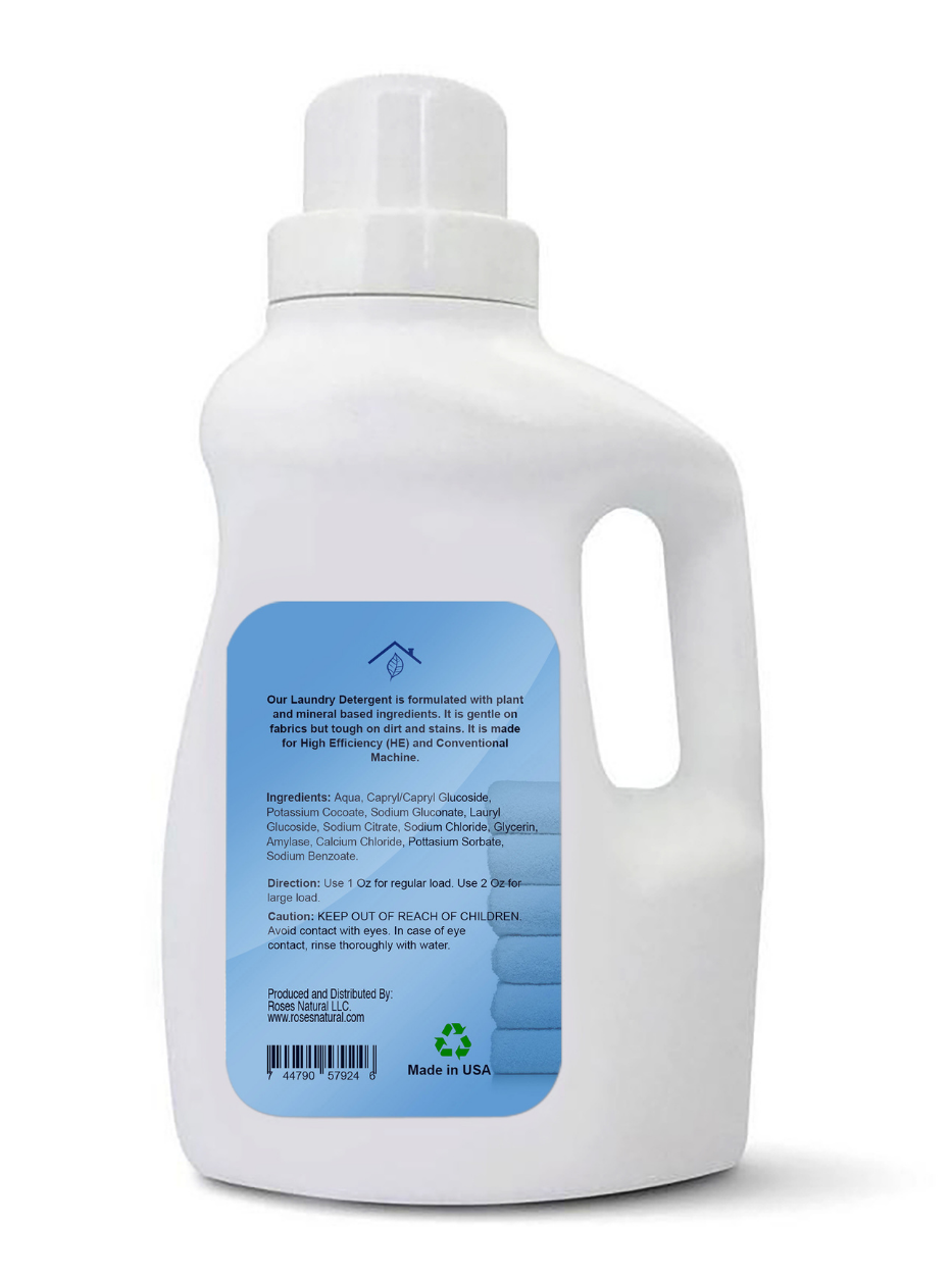 Natural Laundry Detergent - Unscented
