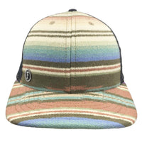 Flipside Hats - Lux Wool Leather Strap Ball Cap (034)