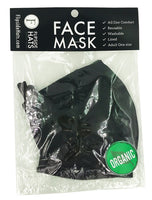 Flipside Hats - Face Mask Packaged Organic Canvas Double Layer (920X)