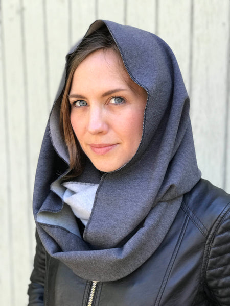Hats for Healing - Organic Circle Scarf Winter Weight Sweatshirt Fleece