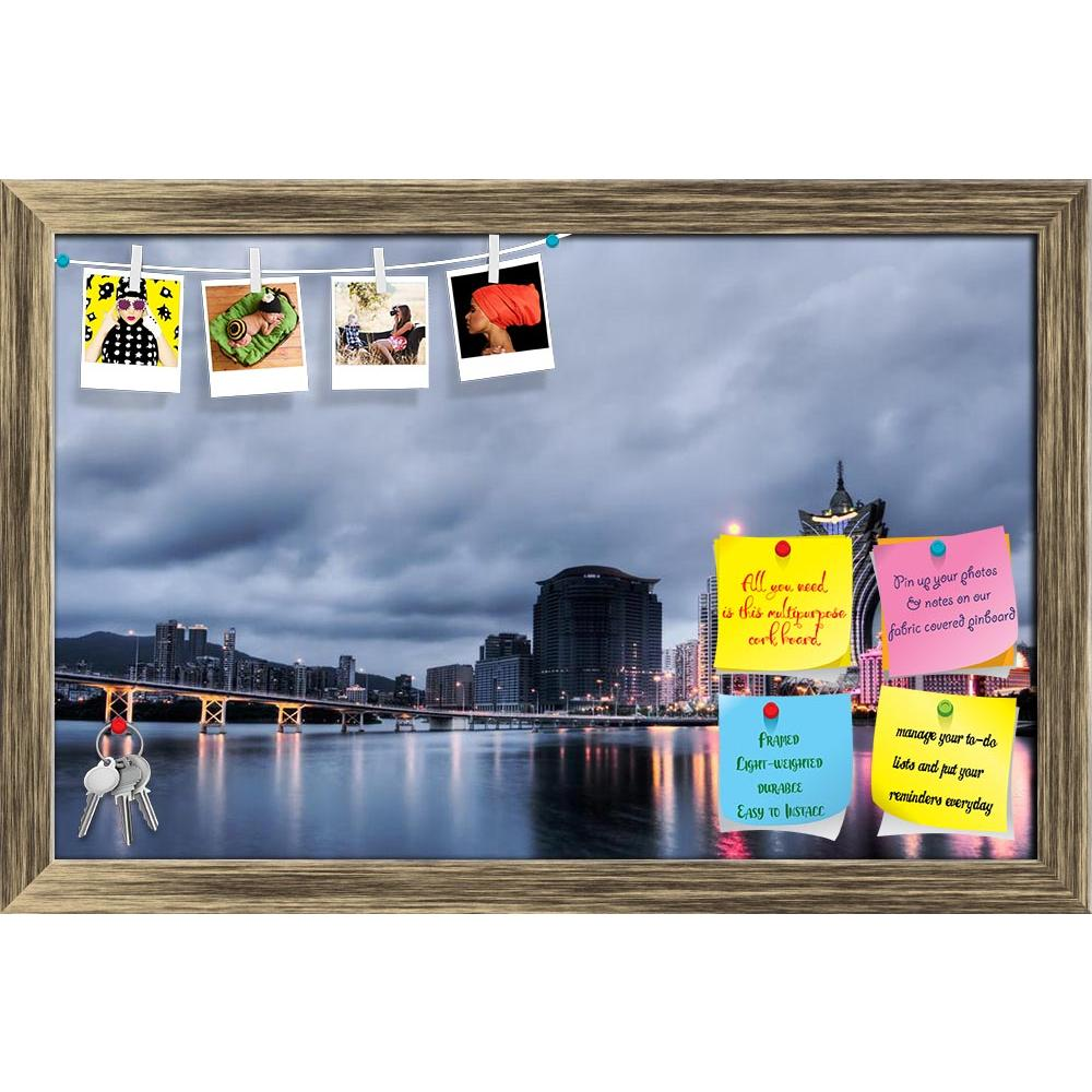 ArtzFolio Macao Cityscape With Casino Skyscraper, China Printed Bulletin Board Notice Pin Board Soft Board | Framed-Bulletin Boards Framed-AZSAO7805046BLB_FR_L-Image Code 5000222 Vishnu Image Folio Pvt Ltd, IC 5000222, ArtzFolio, Bulletin Boards Framed, Places, Photography, macao, cityscape, with, casino, skyscraper, china, printed, bulletin, board, notice, pin, soft, framed, famous, landmark, bridge, night, macau, tower, landscape, gambling, skyline, attractive, beautiful, building, city, cloud, constructi