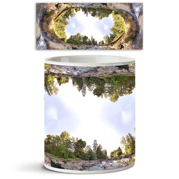 ArtzFolio Earhtly Rocky River With Trees & Sky D1 Ceramic Coffee Tea Mug Inside White-Coffee Mugs-AZKIT7850385MUG_L-Image Code 5000224 Vishnu Image Folio Pvt Ltd, IC 5000224, ArtzFolio, Coffee Mugs, Abstract, Landscapes, Digital Art, earhtly, rocky, river, with, trees, sky, d1, ceramic, coffee, tea, mug, inside, white, an, extreme, wide, angle, coffee mugs with logo, promotional mugs, bulk coffee mug, office mugs, amazonbasics, custom coffee mugs, custom ceramic mugs, 11ounce ceramic coffee mug, coffee cup