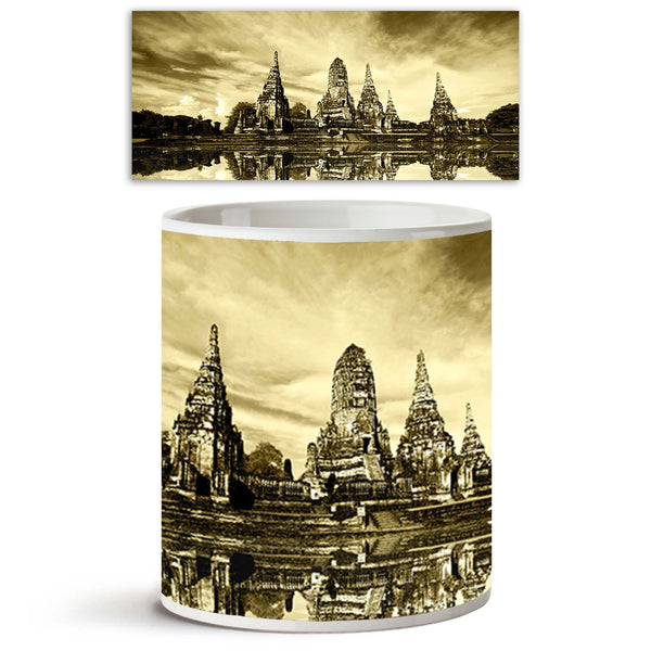 ArtzFolio Ruin Temple In Thailand Ceramic Coffee Tea Mug Inside White-Coffee Mugs-AZKIT7910601MUG_L-Image Code 5000229 Vishnu Image Folio Pvt Ltd, IC 5000229, ArtzFolio, Coffee Mugs, Places, Religious, Photography, ruin, temple, in, thailand, ceramic, coffee, tea, mug, inside, white, coffee mugs with logo, promotional mugs, bulk coffee mug, office mugs, amazonbasics, custom coffee mugs, custom ceramic mugs, 11ounce ceramic coffee mug, coffee cup gift, tea mug, promotional coffee mugs, custom printed mugs, 1