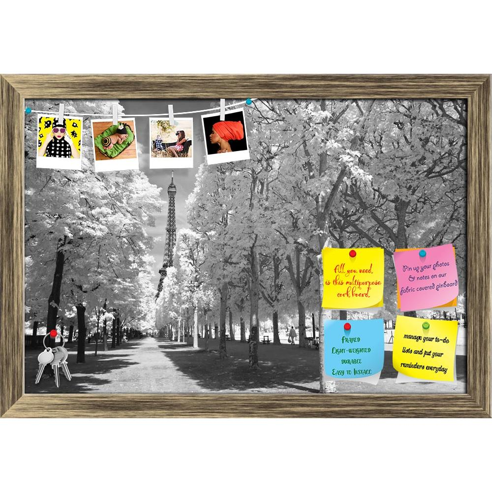 ArtzFolio Eiffel Tower From The Distance, Paris, France Printed Bulletin Board Notice Pin Board Soft Board | Framed-Bulletin Boards Framed-AZSAO8669422BLB_FR_L-Image Code 5000268 Vishnu Image Folio Pvt Ltd, IC 5000268, ArtzFolio, Bulletin Boards Framed, Landscapes, Places, Photography, eiffel, tower, from, the, distance, paris, france, printed, bulletin, board, notice, pin, soft, framed, black, white, infrared, arch, architecture, art, artistic, attraction, beautiful, beauty, building, capital, central, cit