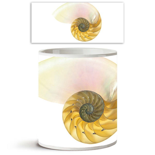 ArtzFolio Halved Backlit Ceramic Coffee Tea Mug Inside White-Coffee Mugs-AZKIT9055099MUG_L-Image Code 5000293 Vishnu Image Folio Pvt Ltd, IC 5000293, ArtzFolio, Coffee Mugs, Abstract, Fine Art Reprint, halved, backlit, ceramic, coffee, tea, mug, inside, white, detailed, photo, shell, chambered, nautilus, pompilius, isolated, coffee mugs with logo, promotional mugs, bulk coffee mug, office mugs, amazonbasics, custom coffee mugs, custom ceramic mugs, 11ounce ceramic coffee mug, coffee cup gift, tea mug, promo