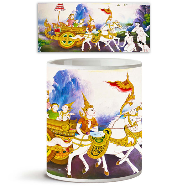 ArtzFolio Generality In Thailand D2 Ceramic Coffee Tea Mug Inside White-Coffee Mugs-AZKIT9267286MUG_L-Image Code 5000312 Vishnu Image Folio Pvt Ltd, IC 5000312, ArtzFolio, Coffee Mugs, Religious, Fine Art Reprint, generality, in, thailand, d2, ceramic, coffee, tea, mug, inside, white, any, kind, art, decorated, buddhist, church, temple, pavilion, hall, monk's, house, etc, created, money, donated, people, hire, artist, are, public, domain, treasure, no, restrict, copy, use, name, coffee mugs with logo, promo