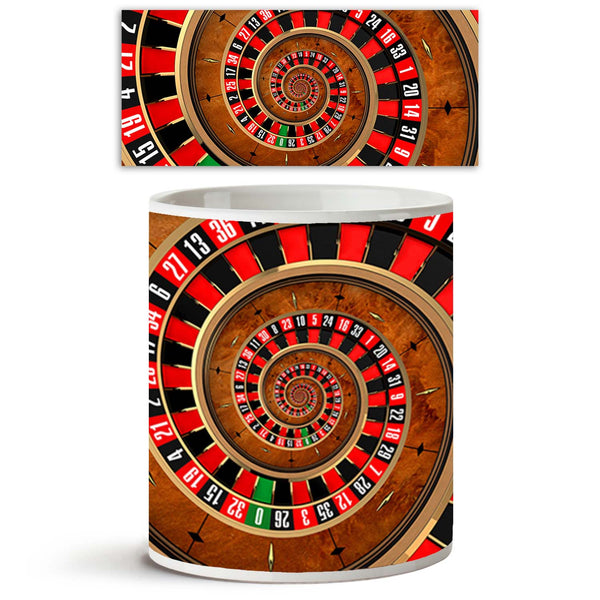 ArtzFolio Gambling At Roulette Ceramic Coffee Tea Mug Inside White-Coffee Mugs-AZKIT9515557MUG_L-Image Code 5000348 Vishnu Image Folio Pvt Ltd, IC 5000348, ArtzFolio, Coffee Mugs, Sports, Photography, gambling, at, roulette, ceramic, coffee, tea, mug, inside, white, the, concept, spanning, player, spiral, vortex, coffee mugs with logo, promotional mugs, bulk coffee mug, office mugs, amazonbasics, custom coffee mugs, custom ceramic mugs, 11ounce ceramic coffee mug, coffee cup gift, tea mug, promotional coffe