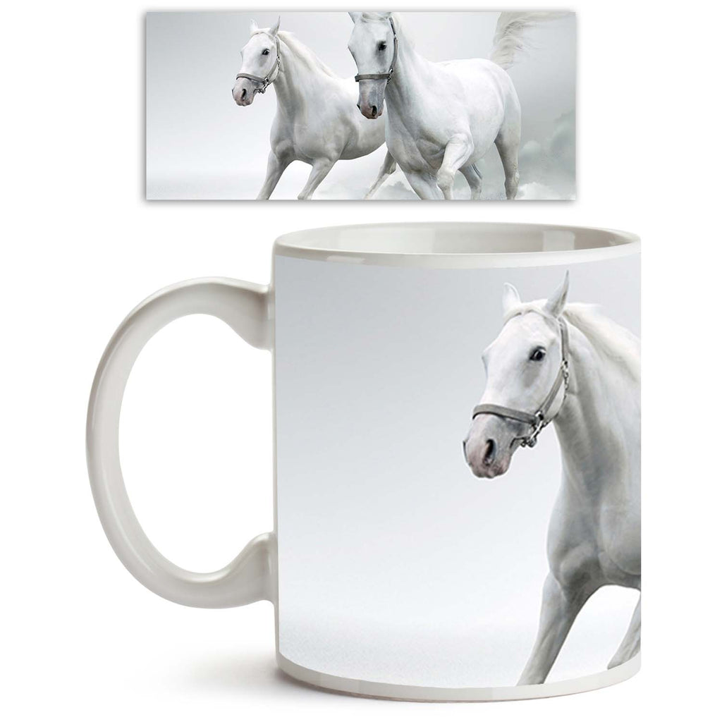 ArtzFolio White Horses D2 Ceramic Coffee Tea Mug Inside White-Coffee Mugs-AZKIT10101254MUG_L-Image Code 5000426 Vishnu Image Folio Pvt Ltd, IC 5000426, ArtzFolio, Coffee Mugs, Animals, Photography, white, horses, d2, ceramic, coffee, tea, mug, inside, coffee mugs with logo, promotional mugs, bulk coffee mug, office mugs, amazonbasics, custom coffee mugs, custom ceramic mugs, 11ounce ceramic coffee mug, coffee cup gift, tea mug, promotional coffee mugs, custom printed mugs, 11 oz coffee mug, coffee mug set o