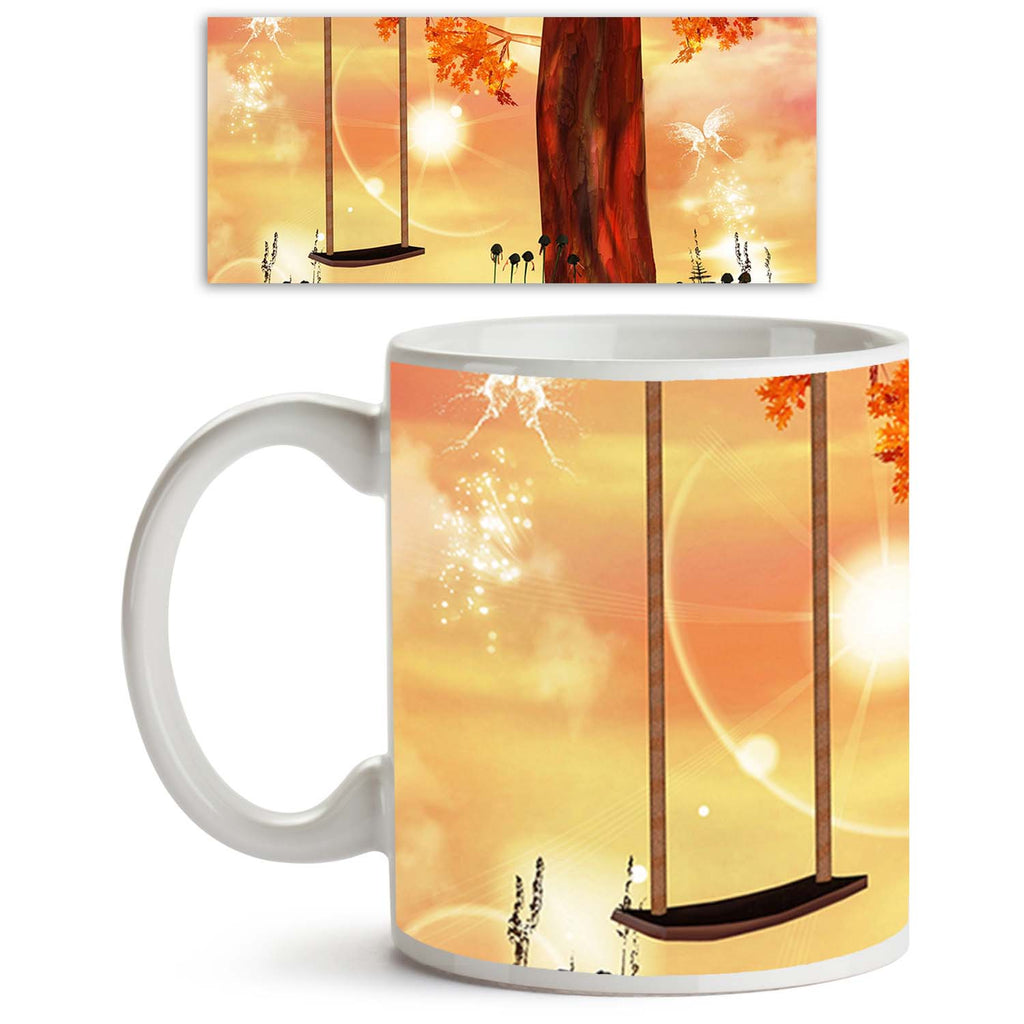 ArtzFolio Enchanted Nature Series Ceramic Coffee Tea Mug Inside White-Coffee Mugs-AZKIT10867009MUG_L-Image Code 5000557 Vishnu Image Folio Pvt Ltd, IC 5000557, ArtzFolio, Coffee Mugs, Fantasy, Kids, Landscapes, Digital Art, enchanted, nature, series, ceramic, coffee, tea, mug, inside, white, swing, faerie, hill, coffee mugs with logo, promotional mugs, bulk coffee mug, office mugs, amazonbasics, custom coffee mugs, custom ceramic mugs, 11ounce ceramic coffee mug, coffee cup gift, tea mug, promotional coffee
