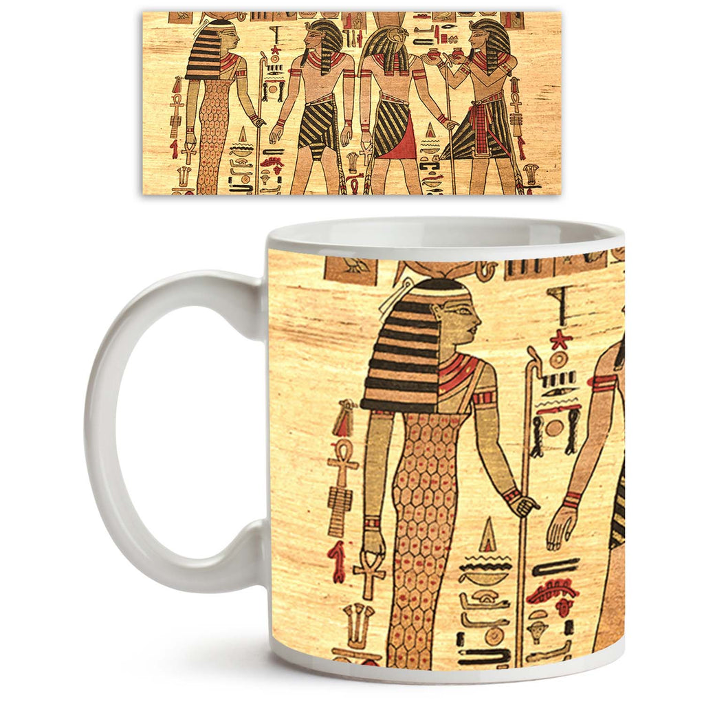 ArtzFolio Egypt Papyrus Ceramic Coffee Tea Mug Inside White-Coffee Mugs-AZKIT11425280MUG_L-Image Code 5000703 Vishnu Image Folio Pvt Ltd, IC 5000703, ArtzFolio, Coffee Mugs, Historical, Traditional, Fine Art Reprint, egypt, papyrus, ceramic, coffee, tea, mug, inside, white, elements, most, prominent, antique, coffee mugs with logo, promotional mugs, bulk coffee mug, office mugs, amazonbasics, custom coffee mugs, custom ceramic mugs, 11ounce ceramic coffee mug, coffee cup gift, tea mug, promotional coffee mu