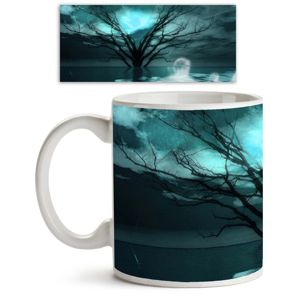 ArtzFolio Ghostlike Figures Ceramic Coffee Tea Mug Inside White-Coffee Mugs-AZKIT11800031MUG_L-Image Code 5000775 Vishnu Image Folio Pvt Ltd, IC 5000775, ArtzFolio, Coffee Mugs, Conceptual, Landscapes, Fine Art Reprint, ghostlike, figures, ceramic, coffee, tea, mug, inside, white, journey, landscape, coffee mugs with logo, promotional mugs, bulk coffee mug, office mugs, amazonbasics, custom coffee mugs, custom ceramic mugs, 11ounce ceramic coffee mug, coffee cup gift, tea mug, promotional coffee mugs, custo