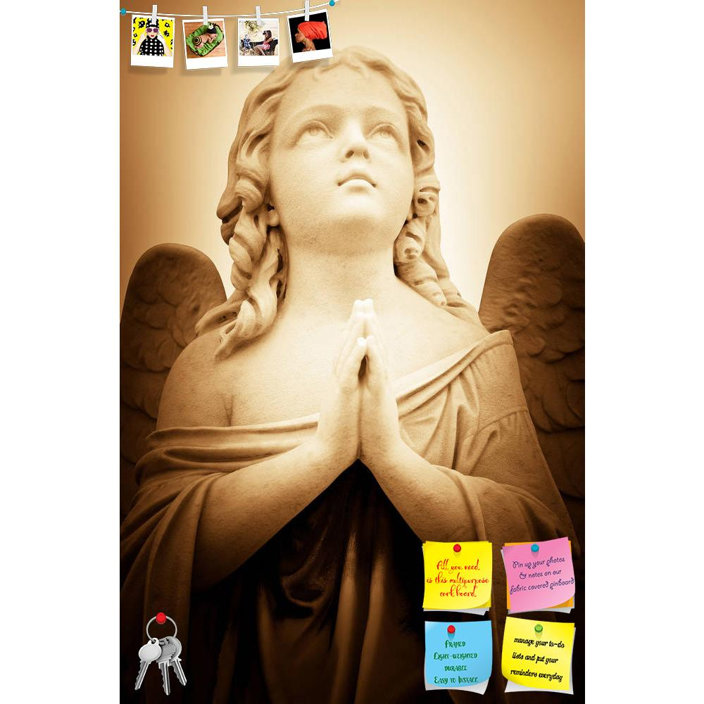 ArtzFolio Praying Angel In Sepia Shades Printed Bulletin Board Notice Pin Board Soft Board | Frameless-Bulletin Boards Frameless-AZSAO11874778BLB_FL_L-Image Code 5000788 Vishnu Image Folio Pvt Ltd, IC 5000788, ArtzFolio, Bulletin Boards Frameless, Religious, Photography, praying, angel, in, sepia, shades, printed, bulletin, board, notice, pin, soft, frameless, beautiful, vintage, image, pin up board, push pin board, extra large cork board, big pin board, notice board, small bulletin board, cork board, wall