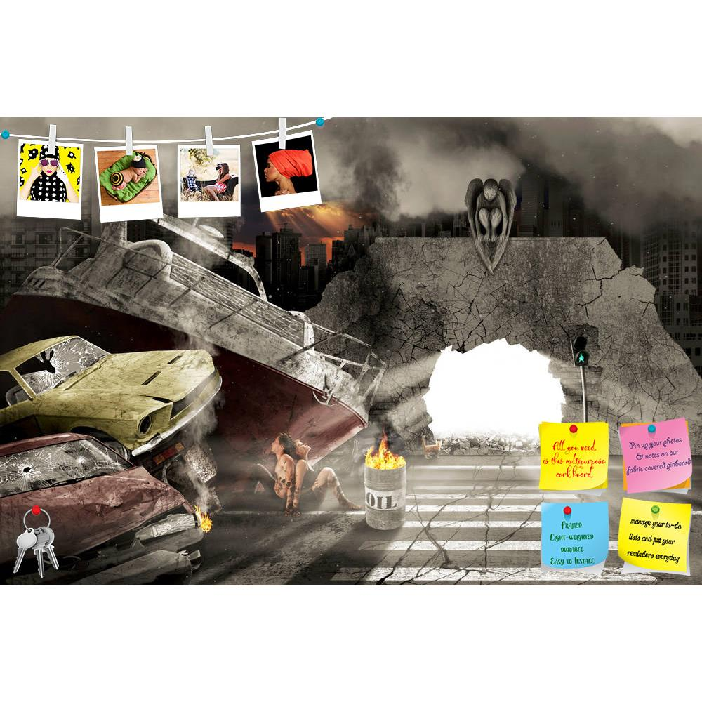ArtzFolio Apocalypse Printed Bulletin Board Notice Pin Board Soft Board | Frameless-Bulletin Boards Frameless-AZSAO11965978BLB_FL_L-Image Code 5000808 Vishnu Image Folio Pvt Ltd, IC 5000808, ArtzFolio, Bulletin Boards Frameless, Abstract, Surrealism, Digital Art, apocalypse, printed, bulletin, board, notice, pin, soft, frameless, which, may, occur, december, 21, 2012, pin up board, push pin board, extra large cork board, big pin board, notice board, small bulletin board, cork board, wall notice board, giant