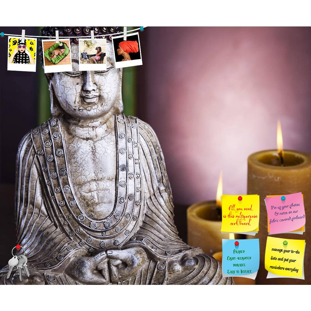 ArtzFolio Buddha With Candle Printed Bulletin Board Notice Pin Board Soft Board | Frameless-Bulletin Boards Frameless-AZSAO12139629BLB_FL_L-Image Code 5000848 Vishnu Image Folio Pvt Ltd, IC 5000848, ArtzFolio, Bulletin Boards Frameless, Religious, Photography, buddha, with, candle, printed, bulletin, board, notice, pin, soft, frameless, pin up board, push pin board, extra large cork board, big pin board, notice board, small bulletin board, cork board, wall notice board, giant cork board, bulletin board, off