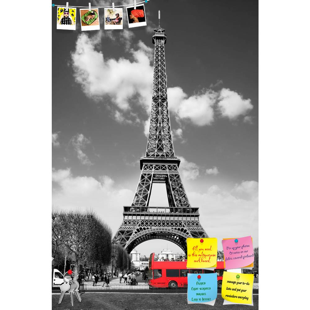 ArtzFolio Eiffel Tower With Red Bus In Paris, France Printed Bulletin Board Notice Pin Board Soft Board | Frameless-Bulletin Boards Frameless-AZSAO12158948BLB_FL_L-Image Code 5000854 Vishnu Image Folio Pvt Ltd, IC 5000854, ArtzFolio, Bulletin Boards Frameless, Places, Photography, eiffel, tower, with, red, bus, in, paris, france, printed, bulletin, board, notice, pin, soft, frameless, architectural, architecture, beautiful, black, blaze, blossom, building, capital, city, cityscape, dawn, dusk, europe, europ