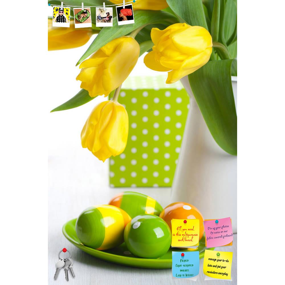 ArtzFolio Colorful Easter Eggs On A Plate Printed Bulletin Board Notice Pin Board Soft Board | Frameless-Bulletin Boards Frameless-AZSAO12184976BLB_FL_L-Image Code 5000862 Vishnu Image Folio Pvt Ltd, IC 5000862, ArtzFolio, Bulletin Boards Frameless, Floral, Photography, colorful, easter, eggs, on, a, plate, printed, bulletin, board, notice, pin, soft, frameless, pin up board, push pin board, extra large cork board, big pin board, notice board, small bulletin board, cork board, wall notice board, giant cork