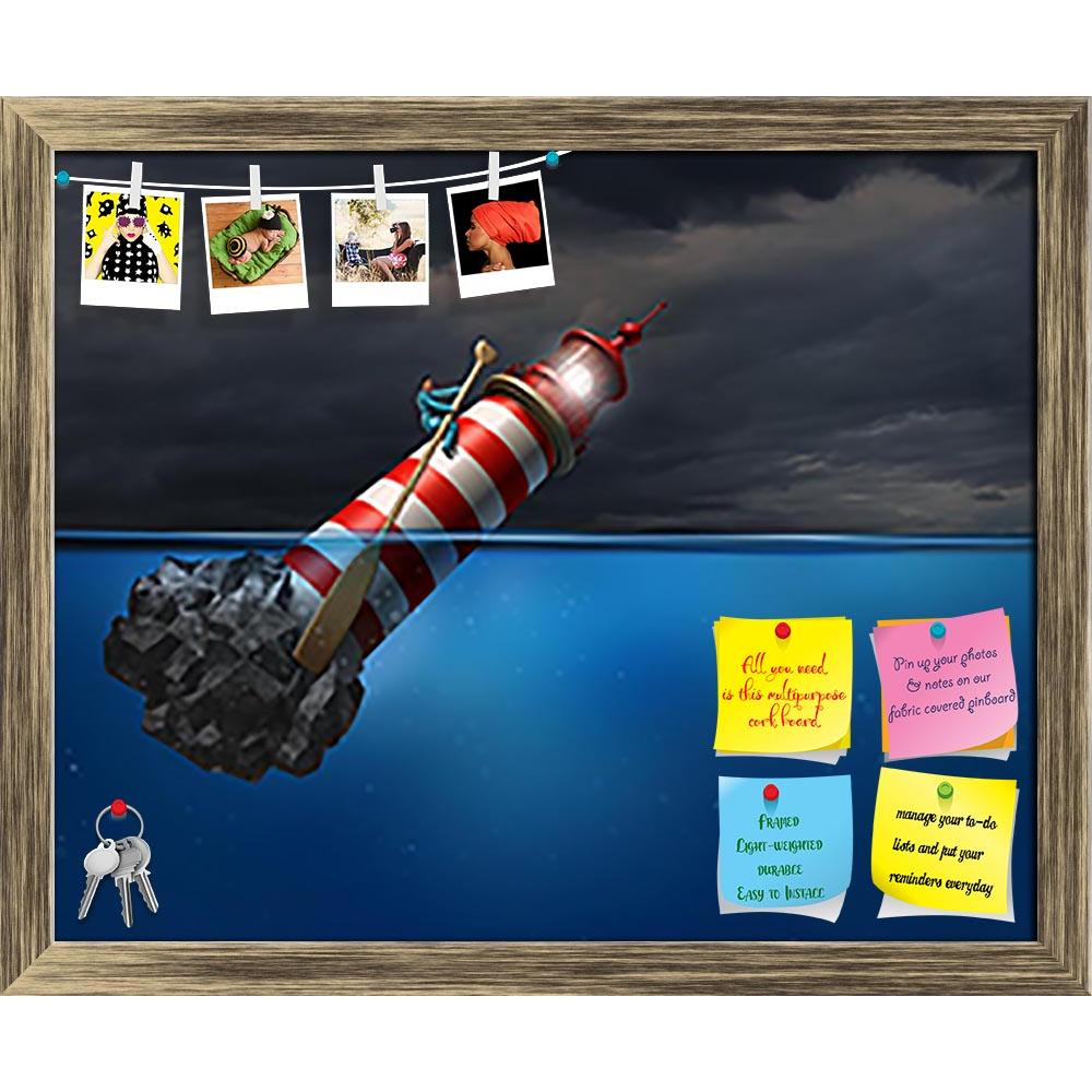 ArtzFolio Lighthouse Beacon Printed Bulletin Board Notice Pin Board Soft Board | Framed-Bulletin Boards Framed-AZSAO34381814BLB_FR_L-Image Code 5004068 Vishnu Image Folio Pvt Ltd, IC 5004068, ArtzFolio, Bulletin Boards Framed, Conceptual, Digital Art, lighthouse, beacon, printed, bulletin, board, notice, pin, soft, framed, empower, concept, as, person, using, was, oar, guiding, business, symbol, success, metaphor, taking, control, career, direction, life, path, destiny, idea, strength, lead, leadership, man