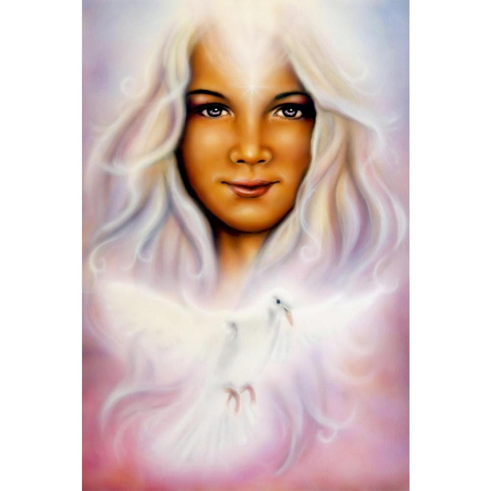 ArtzFolio Young Girl With Radiant White Hair & Shining Dove Unframed Paper Poster-Paper Posters Unframed-AZART36550572POS_UN_L-Image Code 5004284 Vishnu Image Folio Pvt Ltd, IC 5004284, ArtzFolio, Paper Posters Unframed, Fantasy, Fine Art Reprint, young, girl, with, radiant, white, hair, shining, dove, unframed, paper, poster, wall, large, size, for, living, room, home, decoration, big, framed, decor, posters, pitaara, box, modern, art, frame, bedroom, amazonbasics, door, drawing, small, decorative, office,