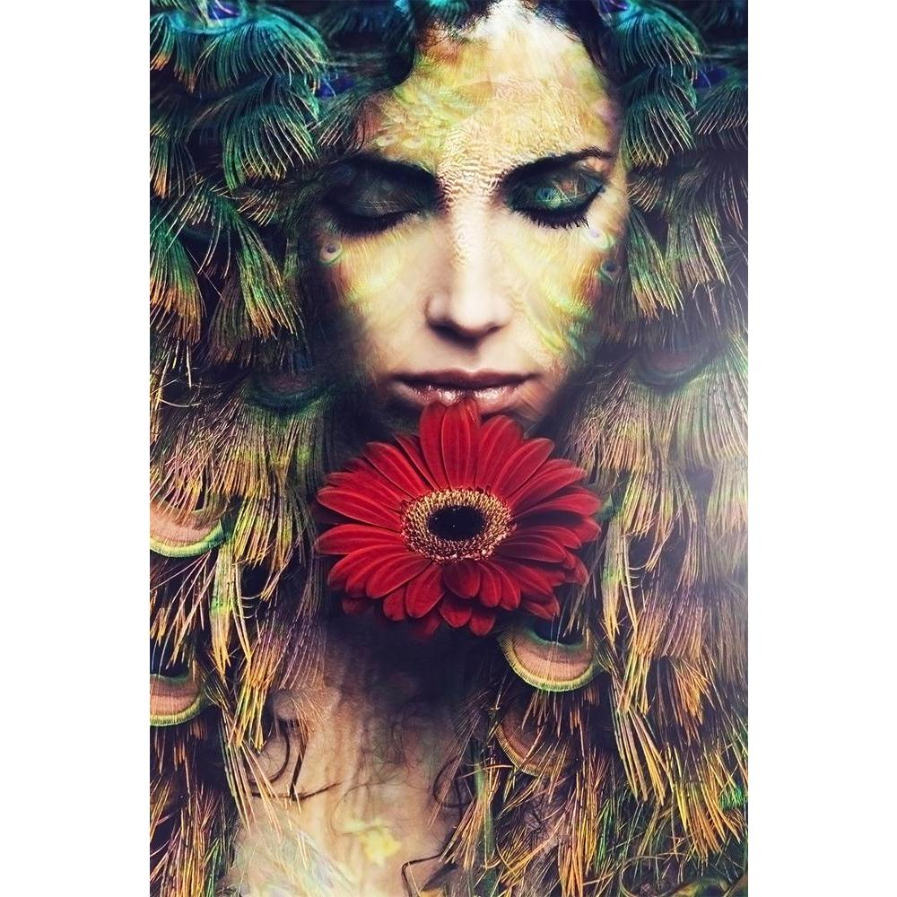 ArtzFolio Beautiful Woman Portrait With Flower Unframed Paper Poster-Paper Posters Unframed-AZART36859443POS_UN_L-Image Code 5004312 Vishnu Image Folio Pvt Ltd, IC 5004312, ArtzFolio, Paper Posters Unframed, Fantasy, Photography, beautiful, woman, portrait, with, flower, unframed, paper, poster, wall, large, size, for, living, room, home, decoration, big, framed, decor, posters, pitaara, box, modern, art, frame, bedroom, amazonbasics, door, drawing, small, decorative, office, reception, multiple, friends, i