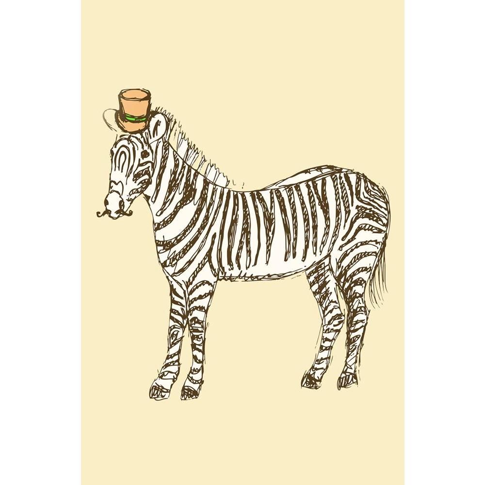 ArtzFolio Fancy Zebra Unframed Paper Poster-Paper Posters Unframed-AZART37544478POS_UN_L-Image Code 5004395 Vishnu Image Folio Pvt Ltd, IC 5004395, ArtzFolio, Paper Posters Unframed, Animals, Kids, Digital Art, fancy, zebra, unframed, paper, poster, wall, large, size, for, living, room, home, decoration, big, framed, decor, posters, pitaara, box, modern, art, with, frame, bedroom, amazonbasics, door, drawing, small, decorative, office, reception, multiple, friends, images, reprints, reprint, bathroom, desig