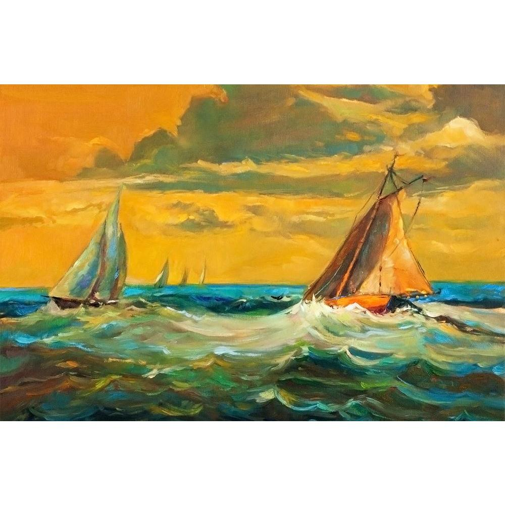 ArtzFolio Artwork Of Sailboats & Sea Unframed Paper Poster-Paper Posters Unframed-AZART37791116POS_UN_L-Image Code 5004416 Vishnu Image Folio Pvt Ltd, IC 5004416, ArtzFolio, Paper Posters Unframed, Abstract, Landscapes, Fine Art Reprint, artwork, of, sailboats, sea, unframed, paper, poster, wall, large, size, for, living, room, home, decoration, big, framed, decor, posters, pitaara, box, modern, art, with, frame, bedroom, amazonbasics, door, drawing, small, decorative, office, reception, multiple, friends,