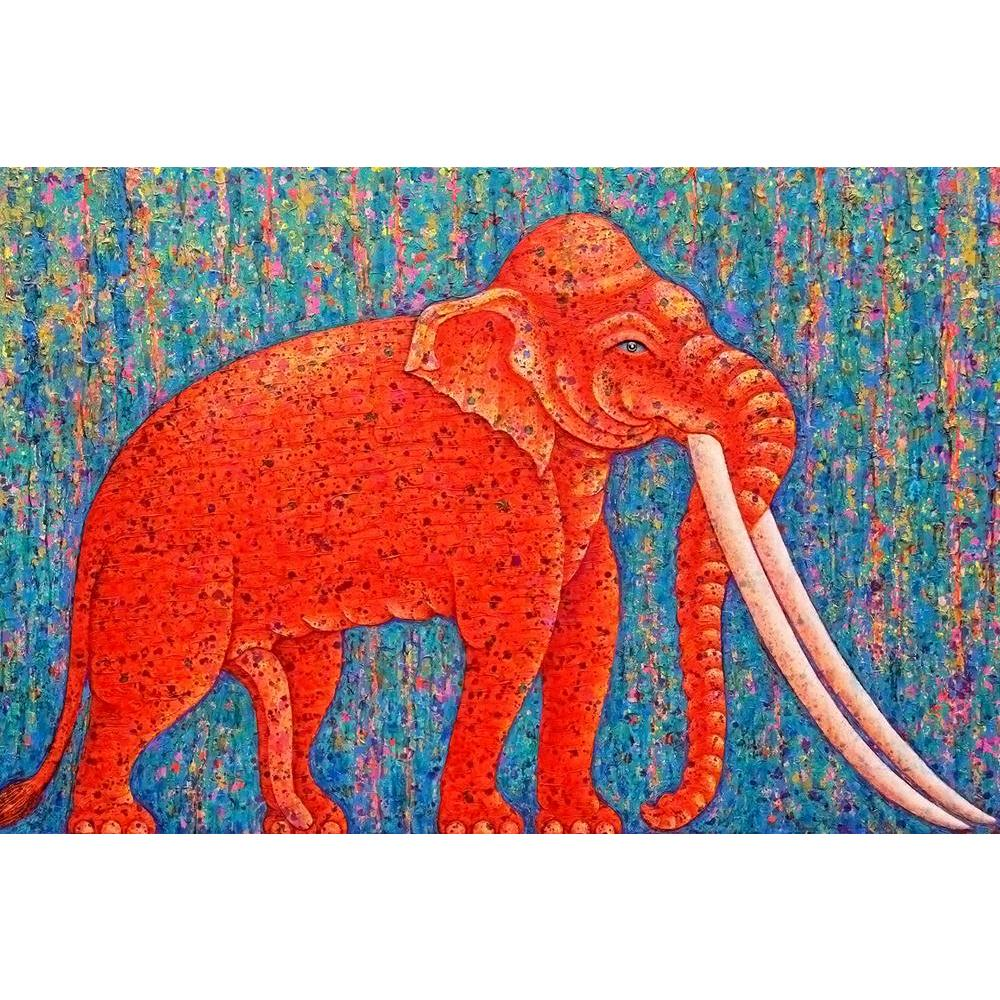 ArtzFolio Red Elephant D2 Unframed Paper Poster-Paper Posters Unframed-AZART38492208POS_UN_L-Image Code 5004480 Vishnu Image Folio Pvt Ltd, IC 5004480, ArtzFolio, Paper Posters Unframed, Animals, Kids, Fine Art Reprint, red, elephant, d2, unframed, paper, poster, wall, large, size, for, living, room, home, decoration, big, framed, decor, posters, pitaara, box, modern, art, with, frame, bedroom, amazonbasics, door, drawing, small, decorative, office, reception, multiple, friends, images, reprints, reprint, b
