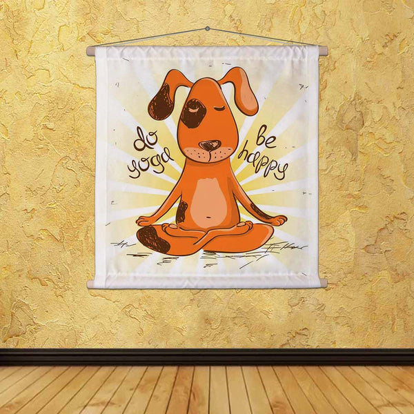 ArtzFolio Red Dog Sitting On Lotus Position Of Yoga Fabric Painting Tapestry Scroll Art Hanging-Scroll Art-AZART40525397TAP_L-Image Code 5004689 Vishnu Image Folio Pvt Ltd, IC 5004689, ArtzFolio, Scroll Art, Animals, Quotes, Digital Art, red, dog, sitting, on, lotus, position, of, yoga, canvas, fabric, painting, tapestry, scroll, art, hanging, funny, illustration, cartoon, tapestries, room tapestry, hanging tapestry, huge tapestry, amazonbasics, tapestry cloth, fabric wall hanging, unique tapestries, wall t