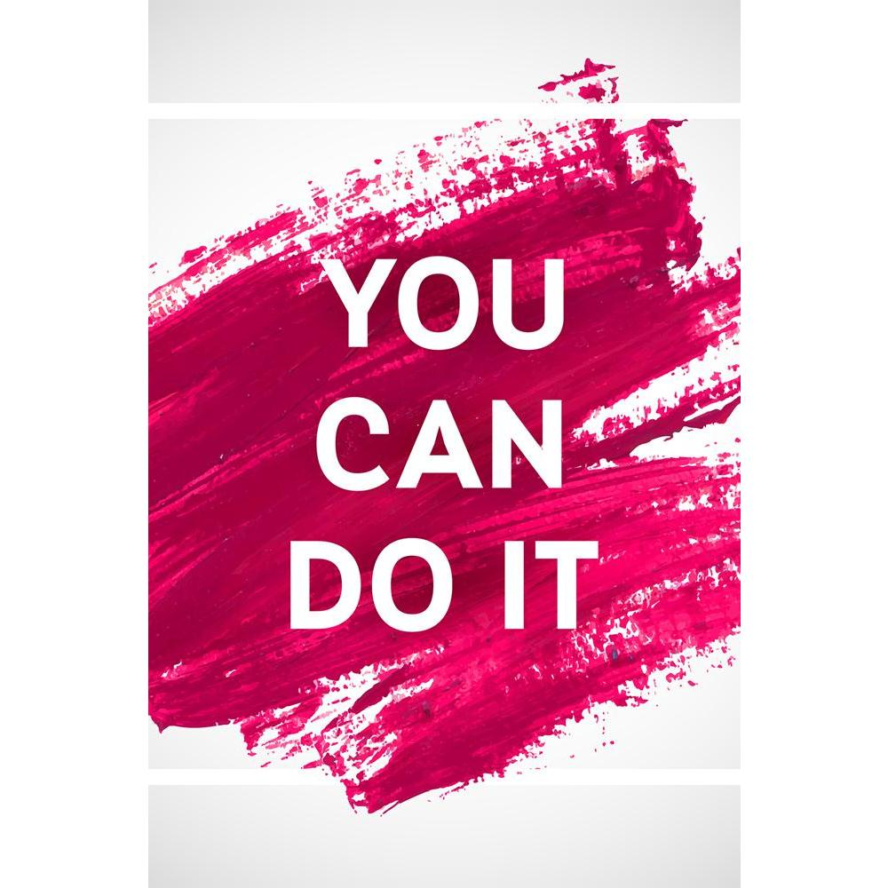 ArtzFolio You Can Do It D1 Unframed Paper Poster-Paper Posters Unframed-AZART40912188POS_UN_L-Image Code 5004748 Vishnu Image Folio Pvt Ltd, IC 5004748, ArtzFolio, Paper Posters Unframed, Kids, Motivational, Quotes, Digital Art, you, can, do, it, d1, unframed, paper, poster, wall, large, size, for, living, room, home, decoration, big, framed, decor, posters, pitaara, box, modern, art, with, frame, bedroom, amazonbasics, door, drawing, small, decorative, office, reception, multiple, friends, images, reprints