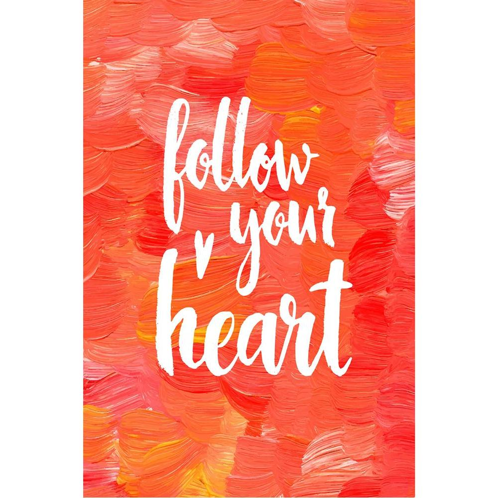 ArtzFolio Follow Your Heart D3 Unframed Paper Poster-Paper Posters Unframed-AZART42209894POS_UN_L-Image Code 5004937 Vishnu Image Folio Pvt Ltd, IC 5004937, ArtzFolio, Paper Posters Unframed, Kids, Love, Quotes, Digital Art, follow, your, heart, d3, unframed, paper, poster, wall, large, size, for, living, room, home, decoration, big, framed, decor, posters, pitaara, box, modern, art, with, frame, bedroom, amazonbasics, door, drawing, small, decorative, office, reception, multiple, friends, images, reprints,