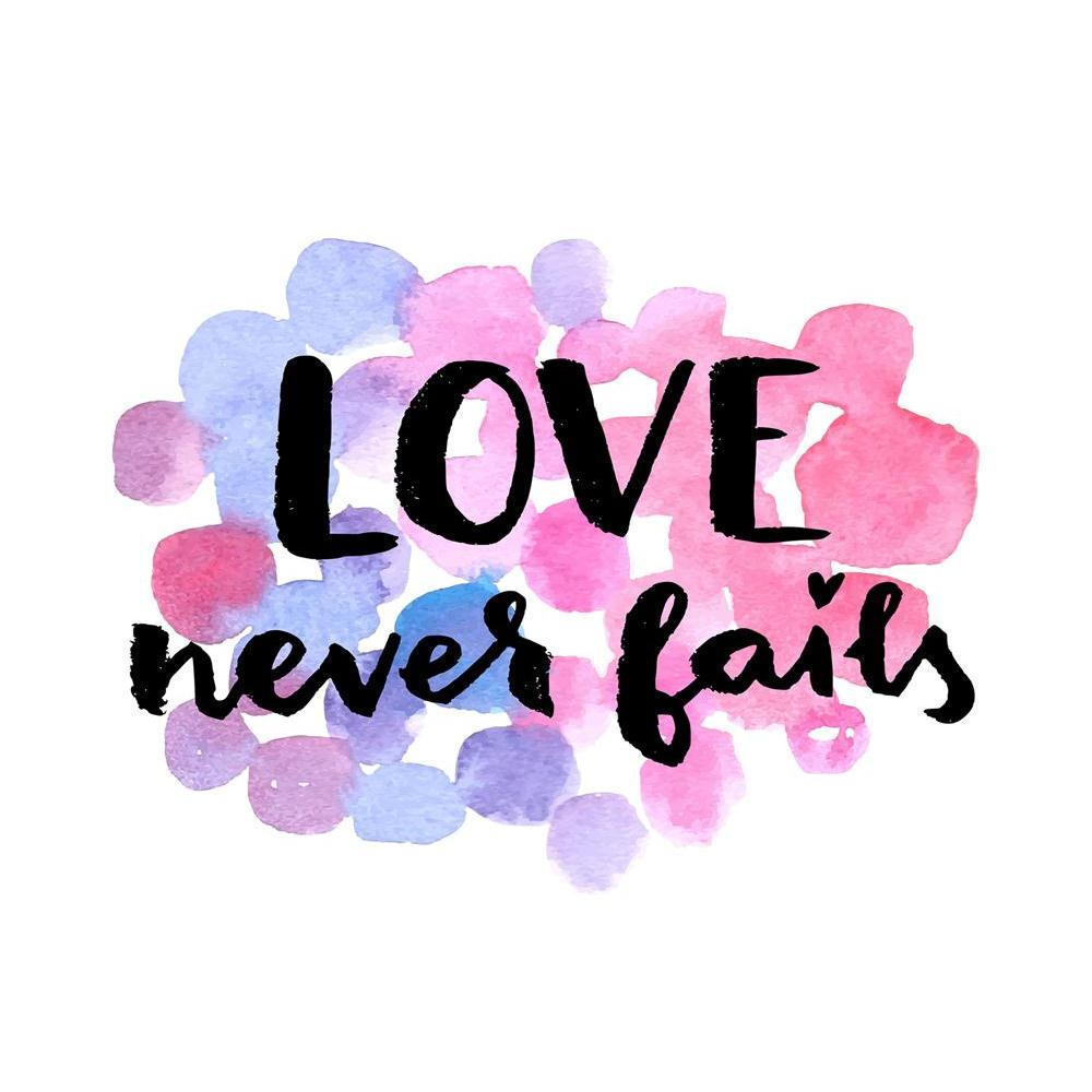ArtzFolio Love Never Fails D1 Unframed Paper Poster-Paper Posters Unframed-AZART42210338POS_UN_L-Image Code 5004948 Vishnu Image Folio Pvt Ltd, IC 5004948, ArtzFolio, Paper Posters Unframed, Kids, Love, Quotes, Digital Art, never, fails, d1, unframed, paper, poster, wall, large, size, for, living, room, home, decoration, big, framed, decor, posters, pitaara, box, modern, art, with, frame, bedroom, amazonbasics, door, drawing, small, decorative, office, reception, multiple, friends, images, reprints, reprint