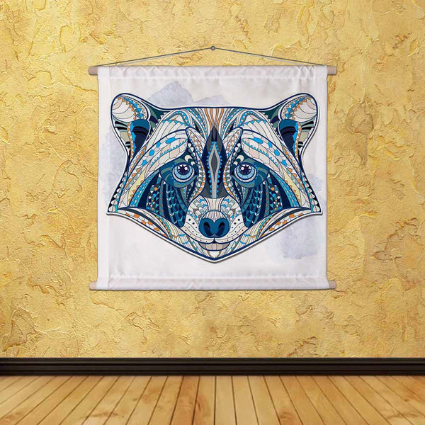ArtzFolio Head of Raccoon Fabric Painting Tapestry Scroll Art Hanging-Scroll Art-AZART44179252TAP_L-Image Code 5005185 Vishnu Image Folio Pvt Ltd, IC 5005185, ArtzFolio, Scroll Art, Animals, Kids, Digital Art, head, of, raccoon, canvas, fabric, painting, tapestry, scroll, art, hanging, ethnic, patterned, grange, background/, african, indian, totem, tattoo, design, isolated, decoration, tribal, ornament, mammals, vector, symbol, graphic, drawing, abstract, illustration, detailed, ornamental, decorative, text