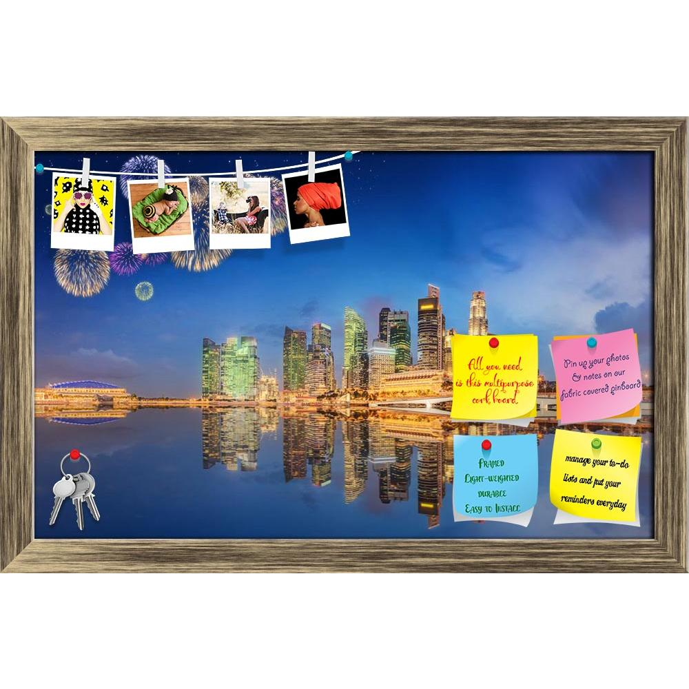 ArtzFolio Fireworks In Marina Bay Singapore D3 Printed Bulletin Board Notice Pin Board Soft Board | Framed-Bulletin Boards Framed-AZSAO48566317BLB_FR_L-Image Code 5005536 Vishnu Image Folio Pvt Ltd, IC 5005536, ArtzFolio, Bulletin Boards Framed, Places, Photography, fireworks, in, marina, bay, singapore, d3, printed, bulletin, board, notice, pin, soft, framed, beautiful, view, skyscrapers, skyline, city, panorama, business, urban, sunset, infinity, light, building, modern, architecture, asia, night, famous,