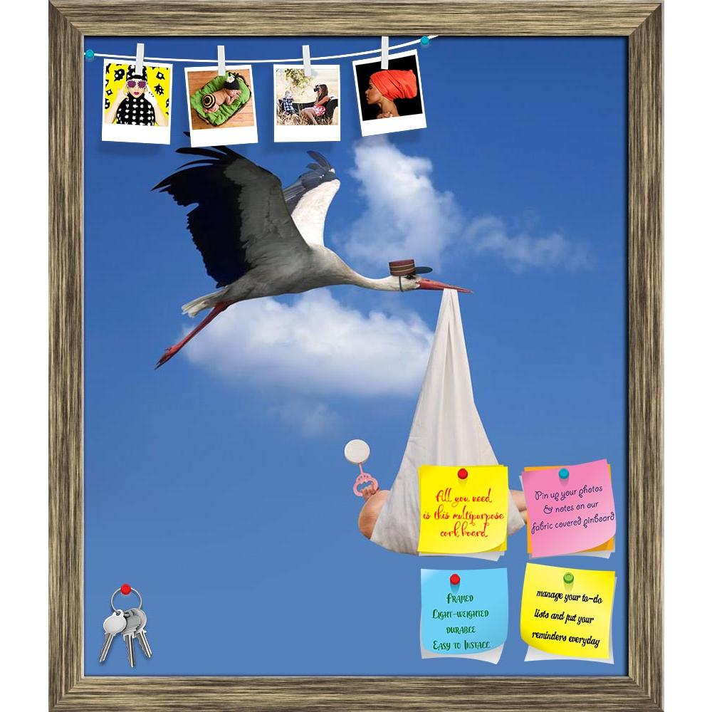 ArtzFolio Stork in Flight Delivering a Newborn Baby Printed Bulletin Board Notice Pin Board Soft Board | Framed-Bulletin Boards Framed-AZ5005717BLB_FR_RF_R-0-Image Code 5005717 Vishnu Image Folio Pvt Ltd, IC 5005717, ArtzFolio, Bulletin Boards Framed, Birds, Conceptual, Kids, Photography, stork, in, flight, delivering, a, newborn, baby, printed, bulletin, board, notice, pin, soft, framed, flying, adoption, birth, carrying, infant, parenthood, population, overpopulation, control, fertility, expecting, pregna