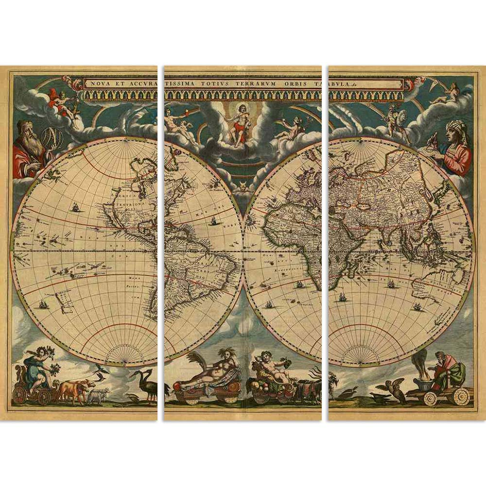 ArtzFolio Image of Ancient World Map D1 Split Art Painting Panel on Sunboard-Split Art Panels-AZ5005728SPL_FR_RF_R-0-Image Code 5005728 Vishnu Image Folio Pvt Ltd, IC 5005728, ArtzFolio, Split Art Panels, Places, Vintage, Digital Art, image, of, ancient, world, map, d1, split, art, painting, panel, on, sunboard, framed, canvas, print, wall, for, living, room, with, frame, poster, pitaara, box, large, size, drawing, big, office, reception, photography, kids, designer, decorative, amazonbasics, reprint, small