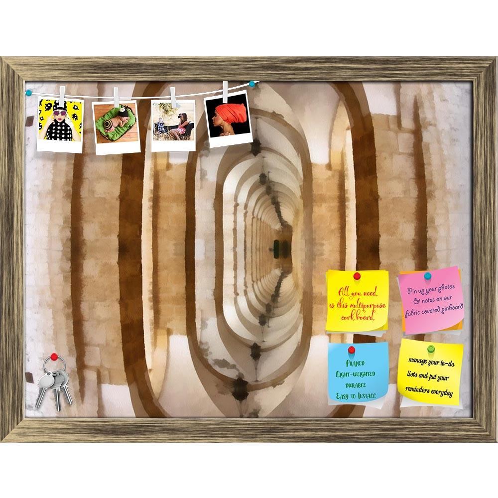 ArtzFolio Realism Style Upside Down Mirror Image Of Hallway Printed Bulletin Board Notice Pin Board Soft Board | Framed-Bulletin Boards Framed-AZ5005731BLB_FR_RF_R-0-Image Code 5005731 Vishnu Image Folio Pvt Ltd, IC 5005731, ArtzFolio, Bulletin Boards Framed, Abstract, Digital Art, realism, style, upside, down, mirror, image, of, hallway, printed, bulletin, board, notice, pin, soft, framed, same, conflicting, contrast, contrasting, confusing, gravity, symbol, symbolizing, concept, conceptual, artwork, art,